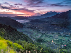 pinggan village (sandilesmana28) Tags: pinggan village bali island indonesia fog rice field landscape nature sunrise cloudy green