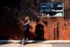 Model (MelindaChan ^..^) Tags: guangzhou china chanmelmel mel melinda melindachan light festival guangzhoulightfestival 廣州 紅專廠 redtory shade shadow