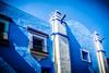 Casa azul en Puebla, México (pepoexpress - A few million thanks!) Tags: nikon d610 d61024120mmf4 nikond610 pepoexpress méxico puebla architecturesky architecture