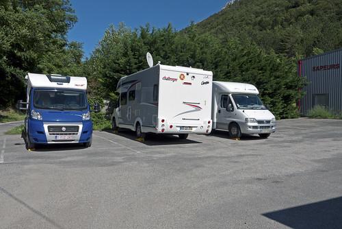 RV Service Area