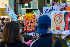 Women's March L.A. (Kevin MG) Tags: protest march antitrump signs demonstrations women equality genderrights