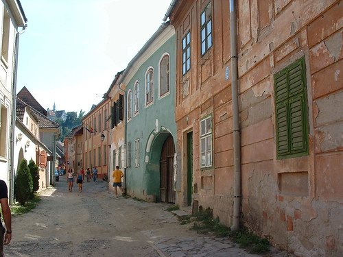 Segesvár, Iskola utca