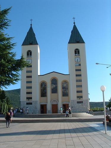 Međugorje, Római katolikus templom