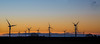 Windkrafträder Explore #76 (Simone Schloen ☞ www.bilderimkopf.de) Tags: windkrafträder sonnenuntergang altesland hamburg gelb blau himmel gegenlicht windturbines sunset oldcountry yellow blue sky backlight windpowerstation windenergyplant windmill