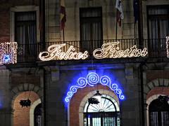 FelicesFiestas_DSCN3884 (darioalvarez) Tags: luces festivas iluminación lucesnavideñas plazamayor zamora castillayleón españa spain viajes invierno cultura 31dediciembre2015