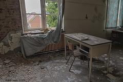School's Out (Marian Smeets) Tags: schoolsout school urbex urbexexploring abandoned decay vervallen verlaten mariansmeets nikond750 2016 belgium belgie klaslokaal classroom