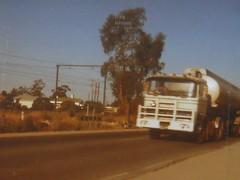 photo by secret squirrel (secret squirrel6) Tags: 1975 truck secretsquirrel6truckphotos craigjohnsontruckphotos australiantruck benz mercedesbenz tanker 1970s truckdriver princeshighway trafalgar gippsland olddays