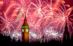 Happy New Year (aurlien.leroch) Tags: england london bigben newyeareve fireworks nye nikon d3000 wow