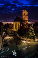 Dramatic Clouds (Michelle Christin) Tags: clouds dramatic evening abend light church kirche licht cold canon 60d outside outdoor