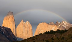 Chile (richard.mcmanus.) Tags: mcmanus rainbow landscape mountain torresdelpaine chile explore