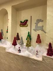 Glitter Christmas decor at Casa Bonita (f l a m i n g o) Tags: casabonita restaurant denver december 31st 2016