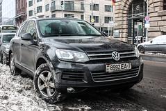 Belarus (Minsk) - VW Touareg (PrincepsLS) Tags: belarus belarussian license plate 7 minsk germany berlin spotting vw touareg