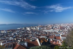 Lisbon lookout. (Rafemago) Tags: lisbon outdoor lookout sky polarizer city sightseeing landscape canon flickr color portugal
