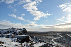 Stanage Edge (Steph*Powell) Tags: stanageedge peakdistrict derbyshire landscape snow nikond5100 britnatparks