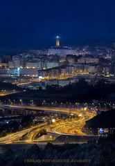 A Coruña (Emilio Rodríguez Álvarez) Tags: nocturna coruña galicia españa paisaje city canon zapateira