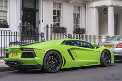 Standard in London (Beyond Speed) Tags: lamborghini aventador supercar supercars automotive automobili nikon v12 green cars car carspotting london