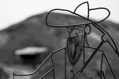Iron Miner (Jose Matutina) Tags: art caifornia calico civilwar historical iron miners park rebar reenactment reenactors sel85f14gm sonya7ii steel unitedstates yermo