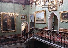 Grand Staircase - Tyntesfield (Turkinator) Tags: paintings victorian staircase tyntesfield