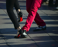 Street Tango in Milan (G.hostbuster (Gigi)) Tags: street milan dancers details tango ghostbuster gigi49
