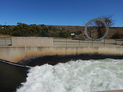 Lesotho Water flowing into South Africa and the pipe (range commander) Tags: africa southafrica lesotho freestate drinkingwater 2015 ashriveroutfall lesothowaterhighlandsproject