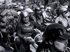 Pedestrians cross here! (Ivan's page) Tags: chaos vietnam motorbike hue