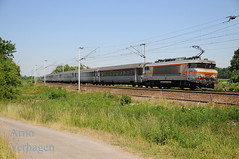 2015. SNCF 122321 'Belleville Saone' te Jussy (Arno@Rsd) Tags: sncf jussy bb22200 intercits mennessis