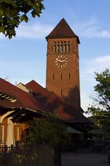 Michigan Central Depot Clock Tower (Eridony) Tags: restaurant downtown michigan clocktower trainstation reuse battlecreek calhouncounty