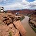 Precipícios ao lado do rio Colorado