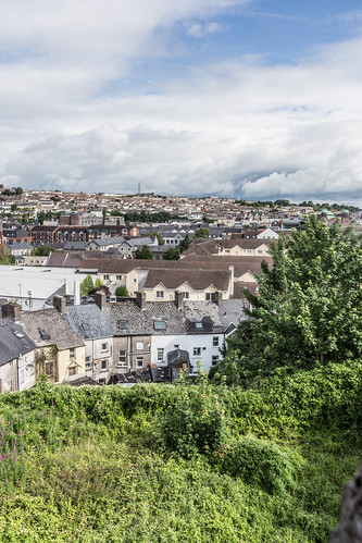 VIEWS OF THE CITY FROM THE WALLS OF ELIZABETH FORT [CORK] REF-106683