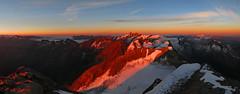 Großes Wiesbachhorn 3564m (ernst.weberhofer) Tags: sunrise sonnenaufgang ankogel sonnblick bärenkopf mooserboden wiesbachhorn hocharn hochalmspitze grosglockner kaindlkees groseswiesbachhorn glockerin wielingerkees