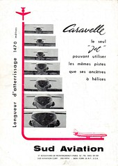 Pub SUD AVIATION Caravelle (1961) (xavnco2) Tags: france advertising airplane french aircraft aviation werbung publicit avion pubblicit caravelle presse sudaviation