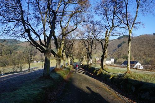 Esch-sur-sure Lane to cemetry 5-12-16