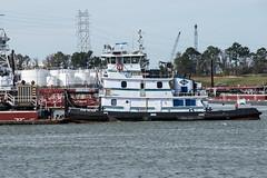 DIXIE VALOUR (Matt D. Allen) Tags: tugboat houstonshipchannel shipspotting tugs maritime kirby marine