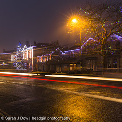 Melksham Town Hall-5682 (he4dgirl) Tags: christmas melksham sarahjdow wiltshire christmastree creativeportraitphotography dawn earlymorning headgirlphotographycom mistymorning night