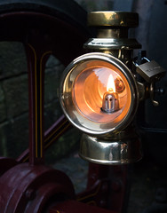 oil lamp 01 dec 16 (Shaun the grime lover) Tags: oil traction engine steam lamp vehicle