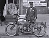 Ofc. Eslie Williams with Henderson Deluxe Police Motorcycle 1922 LOC   06813u (SSAVE w/ over 6.5 MILLION views THX) Tags: washingtondc 1922 esilewilliams policeman metropolitanpolice hendersonmotorcycle deluxe