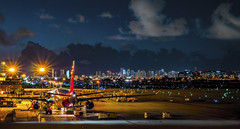 early morning at miami airport (mrsyclone) Tags: early morning miami airport aviation aricraft mia florida skyline