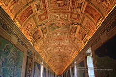 Rome, Vatican Museums, ceiling (blauepics) Tags: italien italy italia rom rome roma city stadt historical historisch vatikanische museen museums painting gemälde religious religiös old alt art kunst ceiling decke
