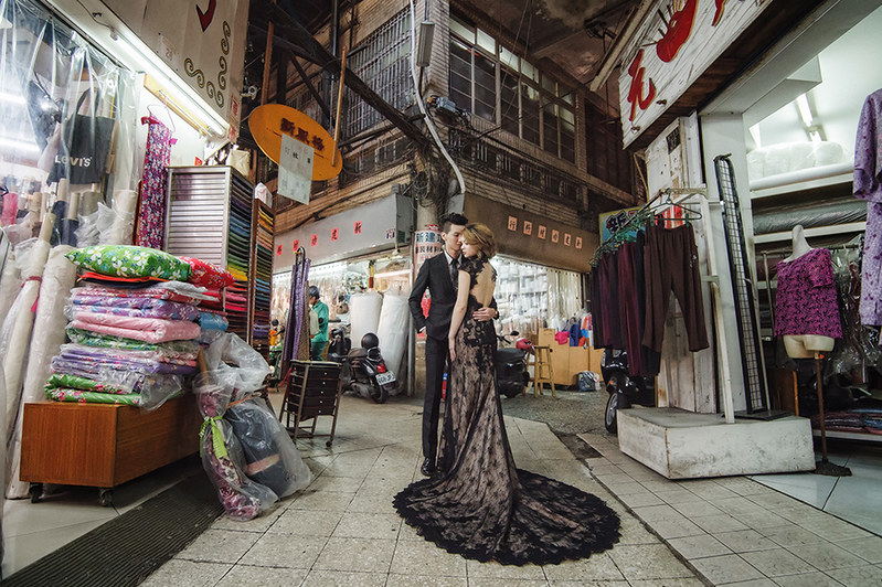 [自助婚紗] Jo & 韓韓 / 鹽山.西市場