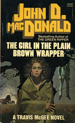 Novel-The-Girl-In-The-Plain-Brown-Wrapper-by-John-D-MacDonald (Count_Strad) Tags: novel book pages read reading pulp johndmacdonald agathachristie mystery suspense