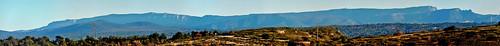 Panorama sur la Sainte-Baume depuis le Montaiguet