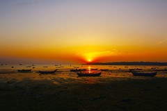 Versova Beach (Sudhir i in the sky :)) Tags: beach sunset mumbai versova