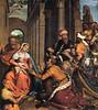 Giovanni Battista Moroni Adoration of the Magi (Adorazione dei Magi con S. Lucia) Italy (c. 1525-58) oil on canvas; 260 x 200 cm (medievalpoc) Tags: art history medievalpoc adoration magi italy 1500s oil canvas giovanni battista moroni