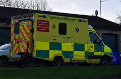 NK59EFA (Cobalt271) Tags: nk59efa neas nhs mercedes sprinter was 515 cdi urgent care ambulance