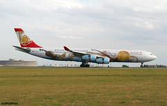 Austrian Airlines A340-313 OE-LAL / CDG (RuWe71) Tags: austrianairlines osaua austrian airbus airbusa340 a340 a343 a340300 a340313 airbusa340300 airbusa340313 oelal msn263 fwwju wienerphilharmoniker parischarlesdegaulle charlesdegaulleairport parisroissy aéroportsdeparis lfpg cdg planes aviation airport spotter avions aéroport engines runway specialcolours vliegtuigen luchthaven spotting winglets clouds flughafen flugzeuge planespotting widebody avgeek aeropuerto aviónes aviationphotography planespotter canon canonphotography jet jetliner airline