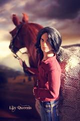 A-Z Contest: Y-Yarn (♥ Lily Queens ♥) Tags: az contest yarn andrew doll fr integrity toys horse did