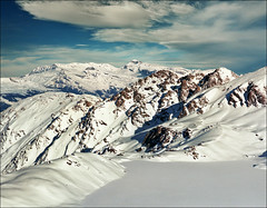 Winter lake (Katarina 2353) Tags: verbier switzerland katarina2353 katarinastefanovic