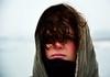 Lonneke (Nils van Rooijen) Tags: portrait girl model face winter curls lonneke cold blush outdoor portret woman