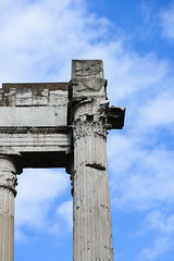 Roman Columns (nydavid1234) Tags: rome italy columns nikon d600 nydavid1234 ruins touristattraction architecture antiquity ancient contrast