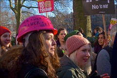 Women's March - DSCF9729a (normko) Tags: london west end grosvenor square usa embassy womens march antitrump dump trump president